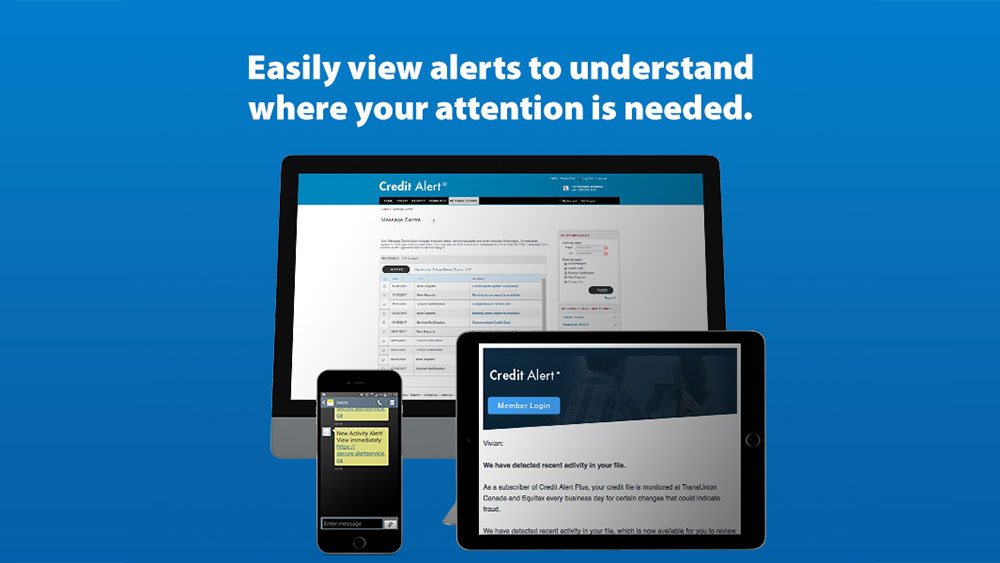 Easily view alerts to understand where your attention is needed.
